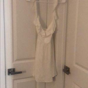 White detail dress